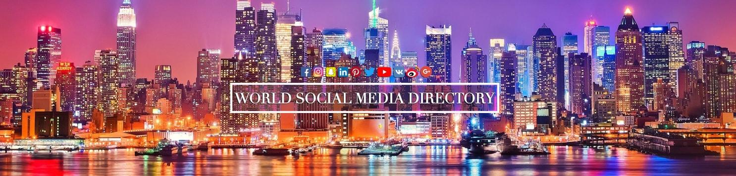 World Social Media Directory